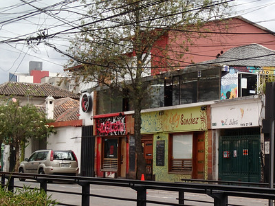 La Mariscal neighborhood, aka Gringolandia