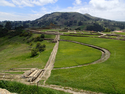 An underground aqueduct system was used provide water to Ingapirca Terraces were used for agriculture.