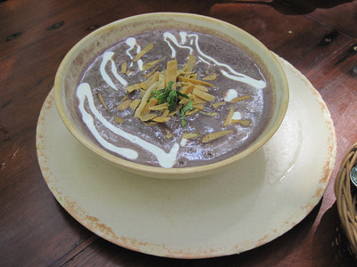 La Cueva del Chango - bean soup